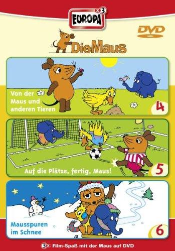 Die Maus - 02/3er Box-Folge 4-6 [3 DVDs]