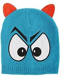 Kinder Beanie Mütze mit Monster Motiv
