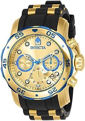 Invicta 17887 - Reloj para hombre color dorado / negro
