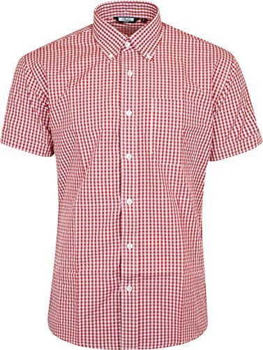 Men's Classic Gingham Button Down Shirt