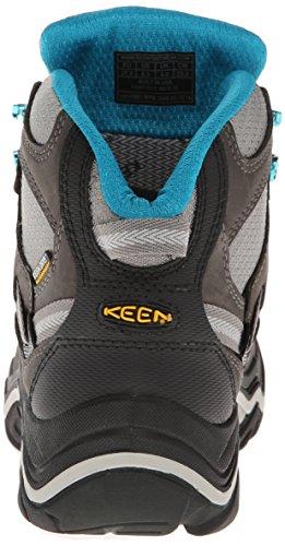 Keen Durand Mid Eu, Chaussures de Randonnée Hautes Femme Gris (Gargoyle/Capri Breez)