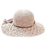 8ab6f1116b Viaje de vacaciones pescador sombrero al aire libre playa sol sombrero  salvaje sombrero de paja señoras
