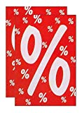 Plakate 2 Stück aus Papier 150g/qm 58,4 x 83,2 cm%%%% ohne Rahmen Werbesymbol