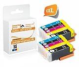 Printer-Express XXL Premium 10er Set Tintenpatronen mit Chip ersetzt Canon PGI-550, PGI550, PGI-550BK, PGI-550PGBKXL und CLI-551, CLI551 Druckerpatrone für Canon Pixma IP7250 MG5450 MG6350 MX725 MX925 / IP 7250 MG 5450 MG 6350 MX 725 MX 925 Drucker