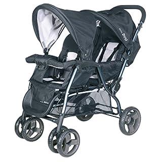 BABY-PLUS Tandem AirTec DUO H 14-20 (Anthrazit-Grey)