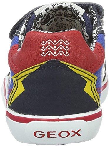 Geox B Kiwi D, Chaussures Marche Bébé Garçon Bleu (Royal/Navyc4227)