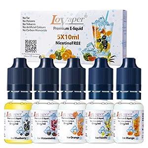 70VG/ 30PG E-Liquids ohne Nikotin