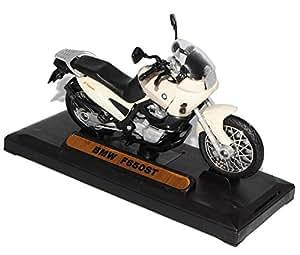 BMW F650st F 650 F650 St Beige 1/18 Motormax Motor Max Modellmotorrad Modell Motorrad