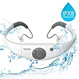 Tayogo 2016 Upgraded Waterproof Mp3 Player Headset Music Player, 8 GB Memory, Earphone Swimming, Surfing, Running