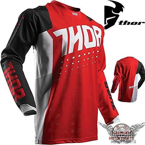 Motocross enfants jersey T-shirt Maillot Rouge Thor Pulse actif Offroad Enduro, Quad