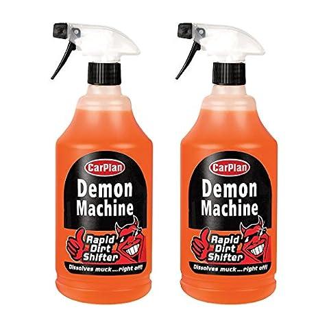 2x CarPlan Dämon Maschine–Pre Wash Rapid Dirt Shifter 1Liter