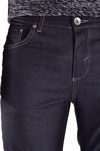 SELECTED HOMME Herren Jeanshose Shuone Fabios Unwash St Jeans Blau