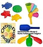 Sandspielzeug: 4 Sandförmchen + 5 Eistüten + 1 Portionierer + 2 Sandschaufel Sandkasten Kindergarten
