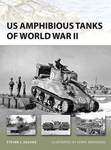 US Amphibious Tanks of World War II (New Vanguard) by Steven J. Zaloga (2012-08-20)