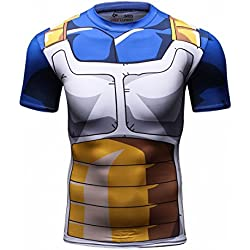 Cody Lundin hombres Tapas de la camiseta de digital impreso manga corta ajustada camisa hombre deporte al aire libre fitness estilo (XXL)