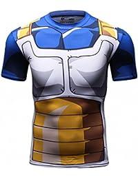 Cody Lundin hombres Tapas de la camiseta de digital impreso manga corta ajustada camisa hombre deporte