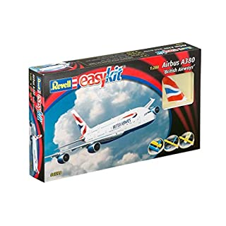 Revell Airbus A380 Scale1:288 British Airways Aircraft Plastic Model Kit