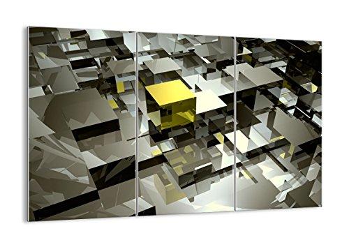 Cuadro sobre vidrio - Cuadro de cristal - 3 piezas - Ancho: 165cm, Altura: 110cm - Foto número 2169 - listo para colgar - Pinturas en vidrio - impresiones sobre vidrio - Cuadro en vidrio - GCE165x110-2169