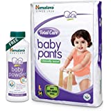 Himalaya Total Care Baby Pants (Large 54 Count) with Baby Powder 400g