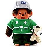 Sekiguchi 232030 - Monchhichi Tiertrainer, Junge, 20 cm