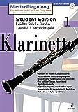 Produkt-Bild: MasterPlayAlong, Student Edition 1, CD-ROMs : Klarinette, 1 CD-ROM Für Windows 95/98. Leichte Stücke für d. 1. u. 2. Unterrichtsjahr