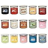 4x Home Inspiration Yankee Candle casualmente fragranze assortite aromaterapia lusso candela profumata in barattolo di vetro con coperchio