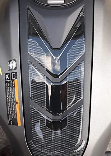 Azul Alamor Radiador refrigerante de Agua dep/ósito Tanque Protector Cubierta para Yamaha FZ-07 MT-07 2013-17