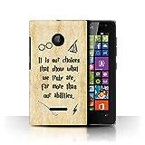 Phone Case for Microsoft Lumia 532 School Of Magic Film