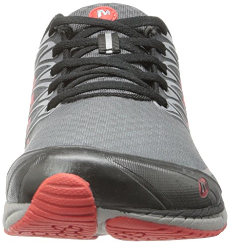 Merrell All Out Trail flash Hommes Running Shoe Castle Rock / Red