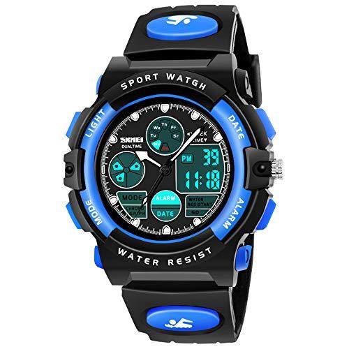 Geschenke für Jungs ab 5-12 Jahre,Dreamingbox Kinder Digitaluhren Armbanduhren für Jugendliche Jungen 6-12 Jahre Junge Spielzeug Geschenke Mädchen 6-12 Jahre