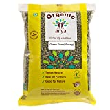 #10: Arya Farm 100% Certified Organic Moong (Green Gram) Whole, 500g (Pulses/Sabut Moong/Chemicals Free/Pesticides Free/No Added Preservatives/No Genetic Engineering/No Artificial Colours)