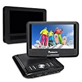 NAVISKAUTO 9 Zoll Mobile DVD Player
