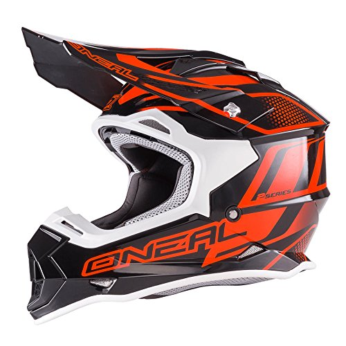 0200-012 - Oneal 2 Series RL Manalishi Motocross Helmet S Black Orange