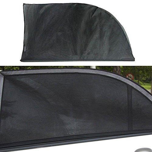 Pare-Soleil Noir de Haute qualit/é pour fen/être arri/ère de Voiture Protection Contre Les Rayons UV nocifs du Soleil et de la Chaleur pour Alfa Romeo 156 159 166