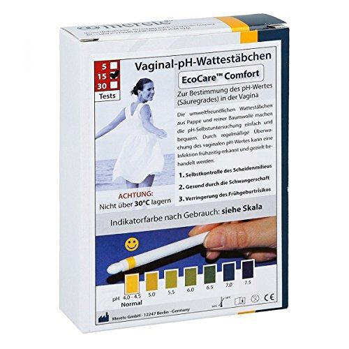 Vaginal Ph Wattestäbchen Ecocare Comfort
