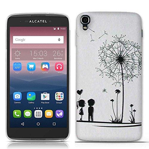 e43e92e5443 FUBAODA Funda Alcatel One Touch Idol 3(5.5 Inch) Moda Patrón,Resistente a