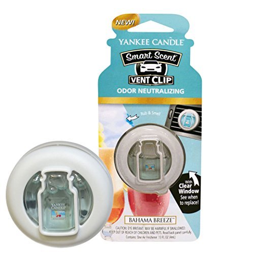yankee-candle-company-1304389z-car-vent-clip-hw-bahama-breeze-aroma-diffusers-by-yankee-candle