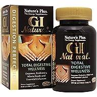 Natures Plus GI Natural Digestive Wellness - 90 Bi-Layered Tablets