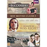 Clarissa (1991) / The Buccaneers (1995) / He Knew He Was Right (2004) / - BBC Region 2 PAL 5-DVD Box Set