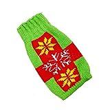 Cikuso Sacchetto di Decorazione Bottiglia di Vino Vestito da Babbo Natale Regalo di Natale Renna avvolgimento Regalo Decor Verde & Rosso