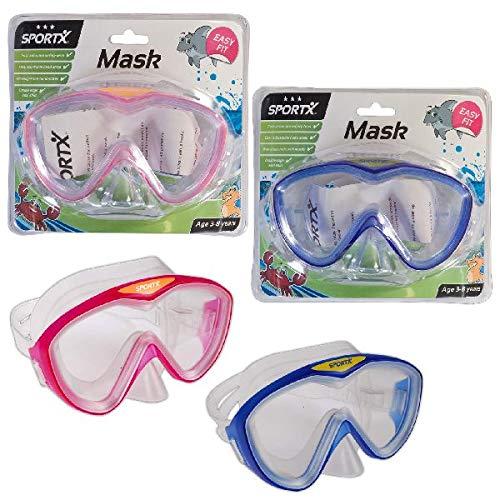 Sportx - 0767001 - Aide À La Nage - Kids Masque De Plongée Comfort