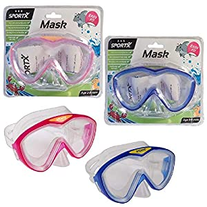 SPORTX - Máscara de natación para niños