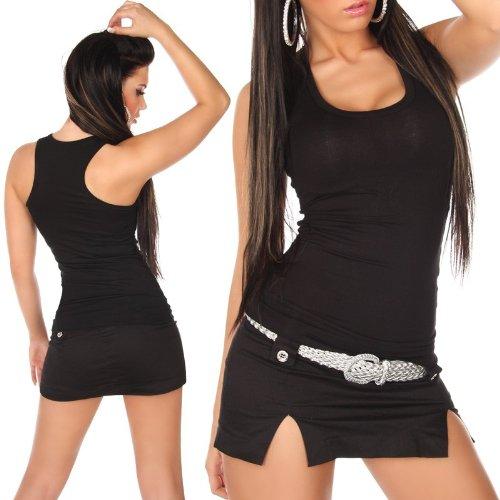 Sexy Débardeur shirt Taille 34-40 Nouveau - différentes couleurs. Noir