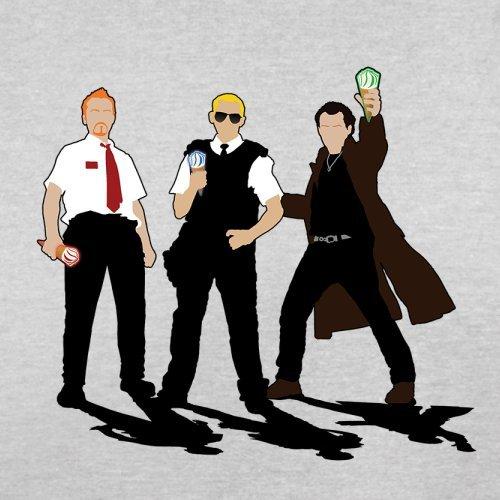 Eiscreme Trilogie - Herren T-Shirt - 13 Farben Hellgrau