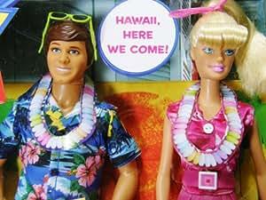 Exclusive Toy Story 3 Barbie & Ken Hawaiian Dream Vacation Barbie Doll Set
