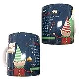 Elfo di Natale vin brulè tazza