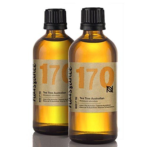 Naissance Teebaumöl Australisch 200ml (2x100ml) 100% naturreines ätherisches Öl