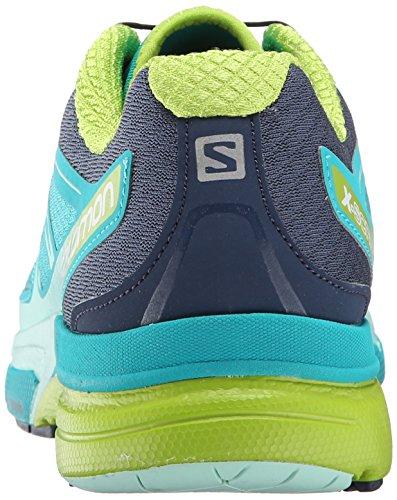 Salomon - X-scream 3d, Scarpe da corsa Donna Turchese (Teal Blue F/Slateblue/Granny Green)