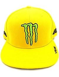 Valentino Rossi VR46 Monster Energy Sponsors Flat Peak casquette officiel 2016