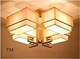Nodark Deckenleuchte Creativo Moderno ÚNico Candelabro De Cristal CláSico Metal PañO Techo Colgante Luz Sombra Cuarto Cabecera Accesorios De IluminacióN Sala Hotel LáMparas De Techo , yellow , m